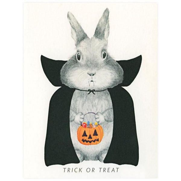 Bunicula Halloween Card - GREER Chicago Online Stationery