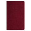 "Public - Supply 5 x 8"" Velvet Debossed Cover Dot Grid or Ruled Notebook Burgundy - GREER Chicago Online Stationery Shop"