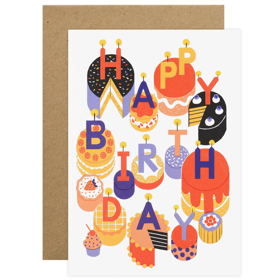 Wrap Cake Time Birthday Card