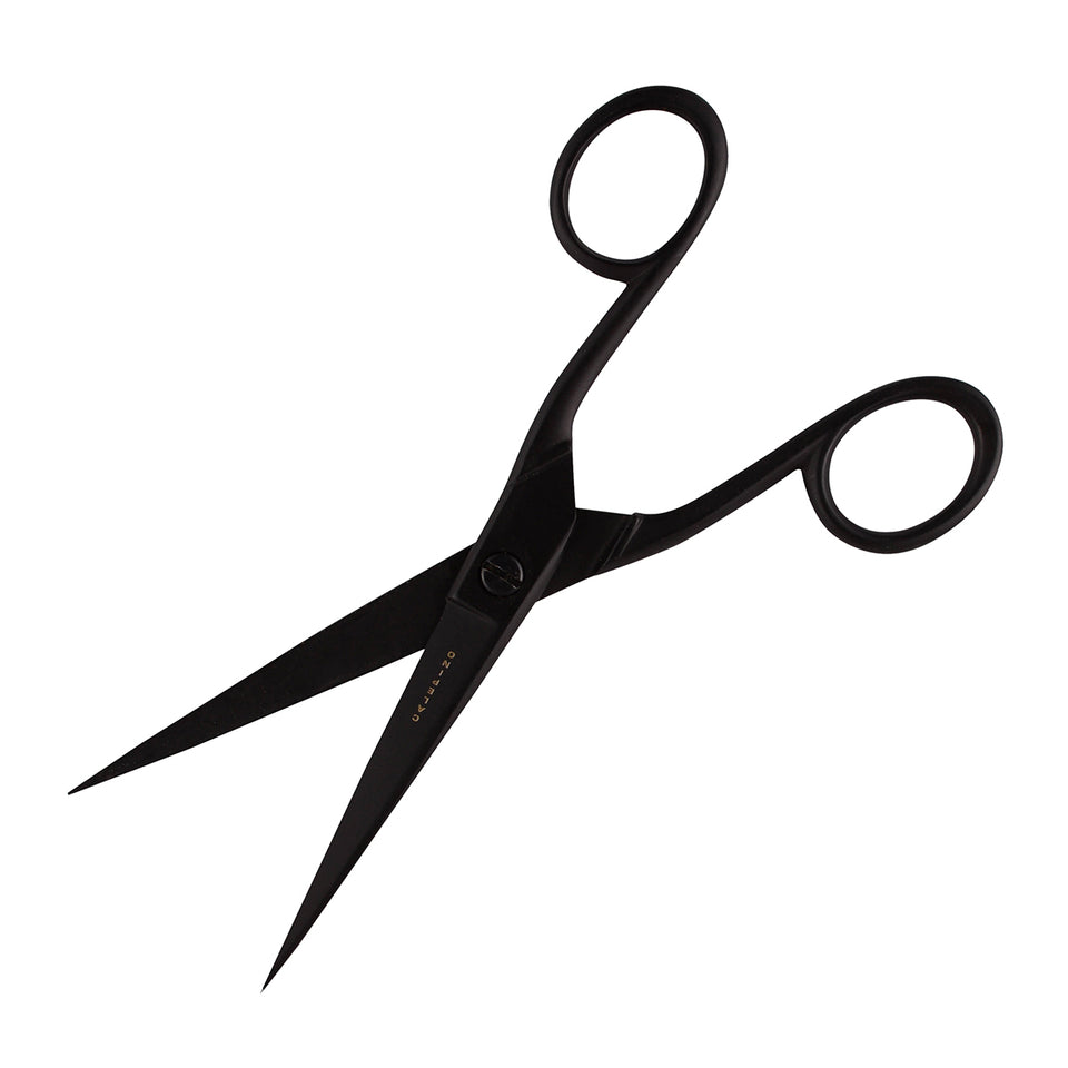 Calepino Black Scissors