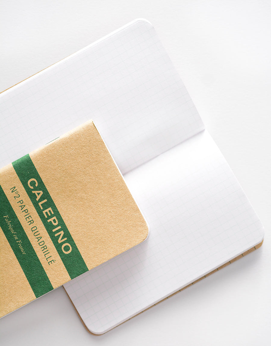 Calepino Notebook No. 2 Graph Pocket Notebook | Single or Set of 3