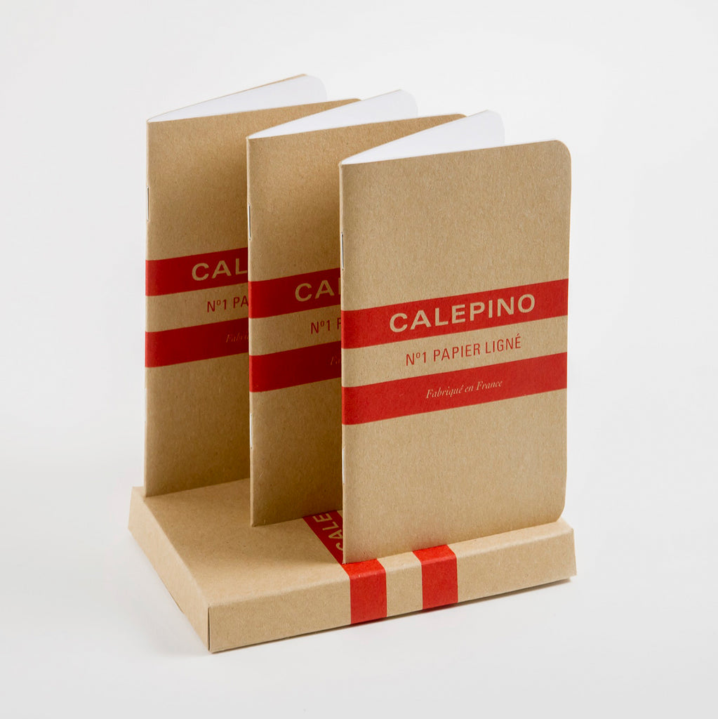 Calepino Notebook No. 1 Ruled Pocket Notebook | Single or Set of 3