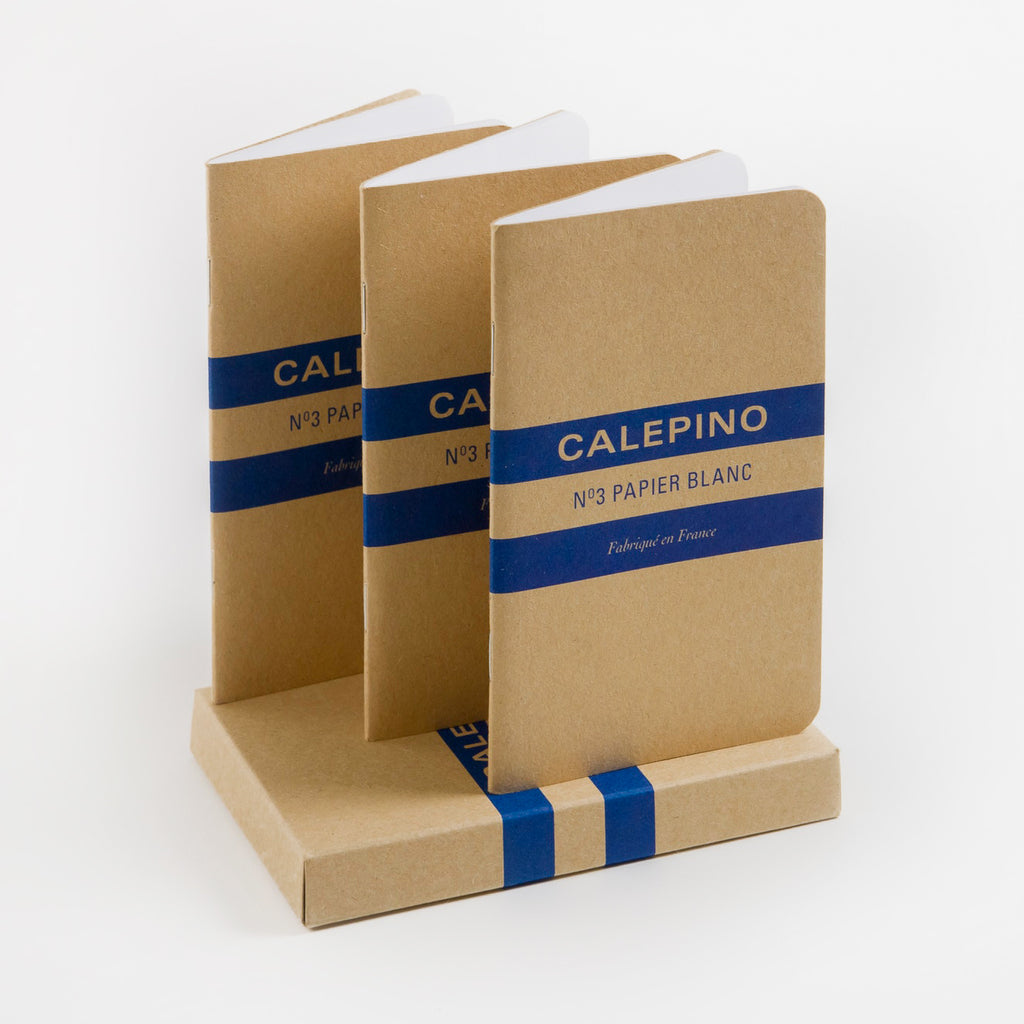 Calepino Notebook No. 3 Blank Pocket Notebook | Single or Set of 3