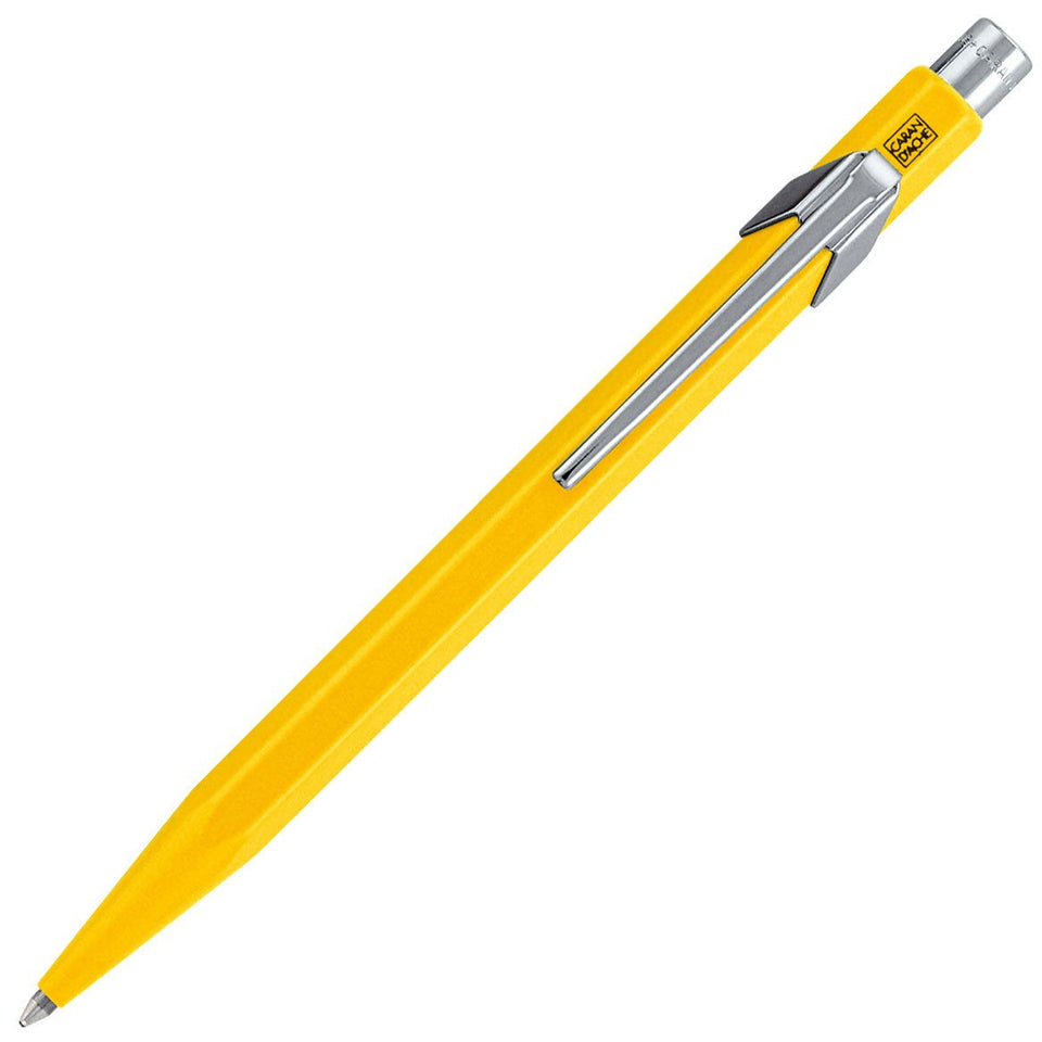 Caran d'Ache 849 Office Ballpoint | 16 Colors yellow