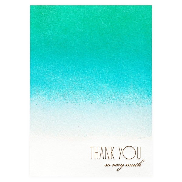 Elum Caribbean Folded Thank You Cards Boxed - GREER Chicago Online Stationery Shop