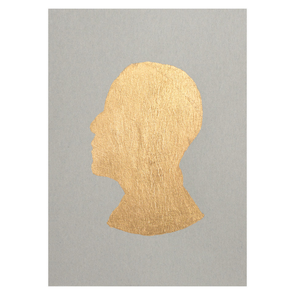 Catherine Greenup Obama Gold Leaf Greeting Card