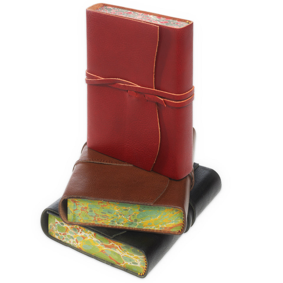 Cavallini Roma Lussa Softbound Leather Journal | In Four Colors