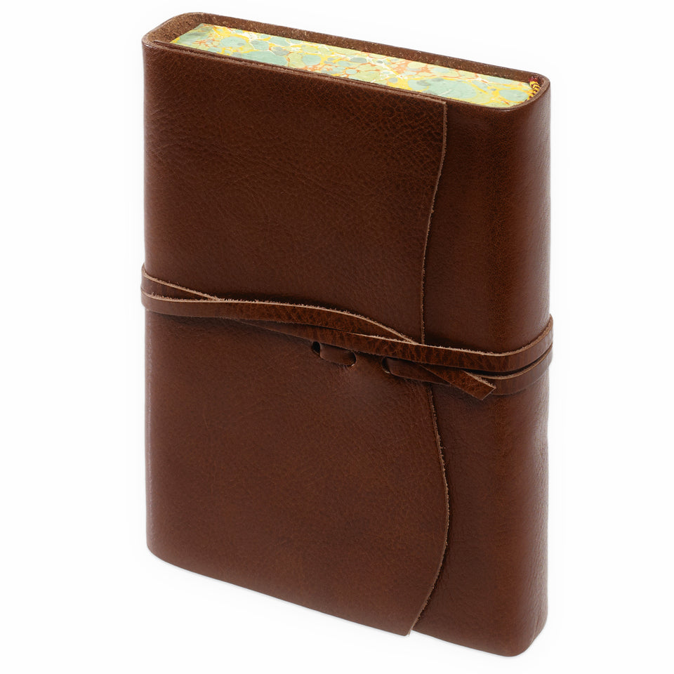 Cavallini Roma Lussa Softbound Leather Journal | In Four Colors brown
