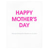 Chez Gagné Letterpress Mistaken For Your Sister Mother's Day Card