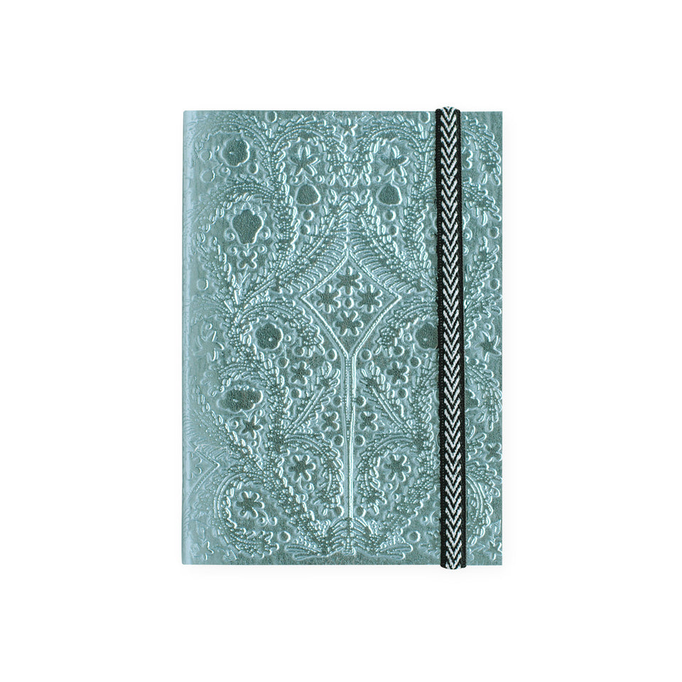 Christian Lacroix Paseo Moon Silver Notebook | A5 or A6 A6 4 x 5.75""