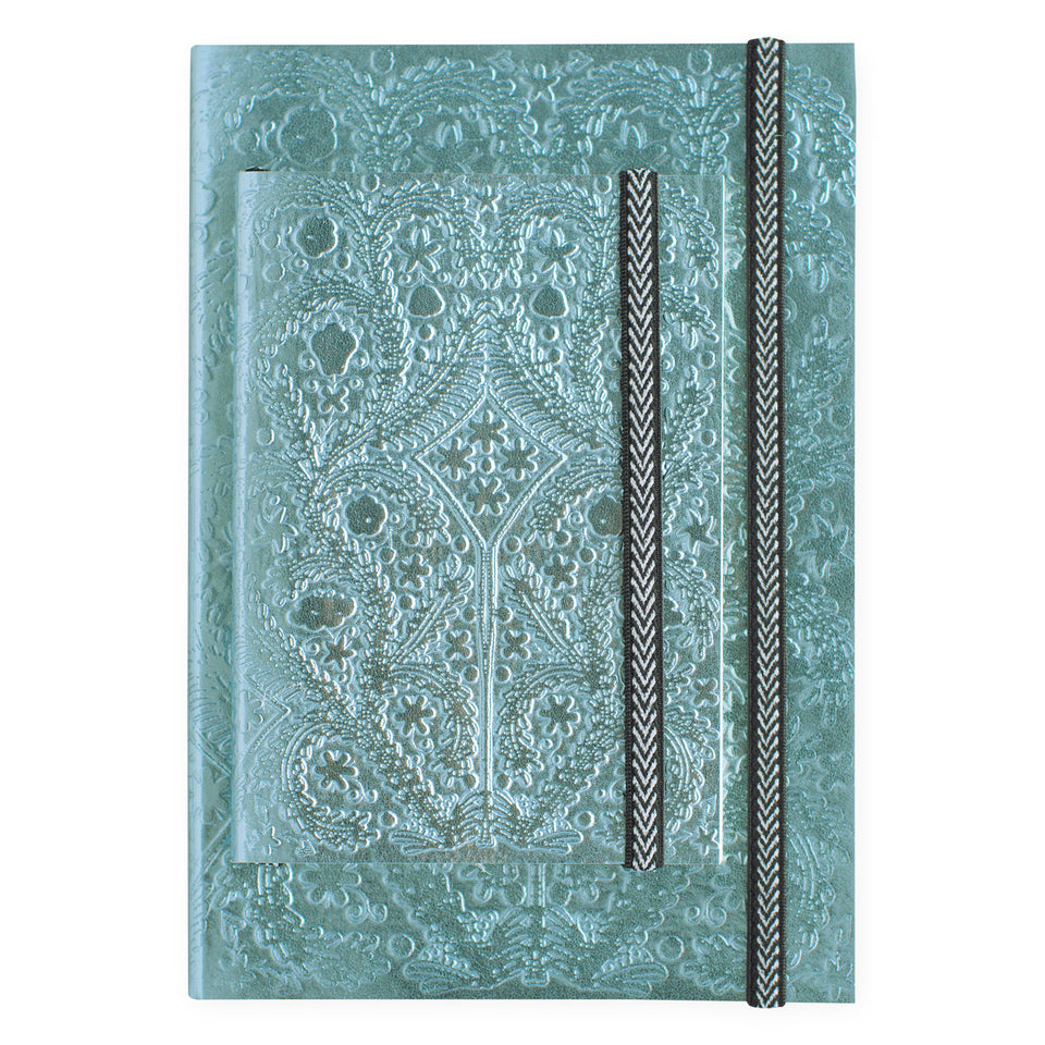 Christian Lacroix Paseo Moon Silver Notebook | A5 or A6
