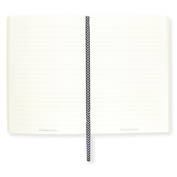 Christian Lacroix Paseo Gold Notebook In Three Sizes - GREER Chicago Online Stationery Shop
