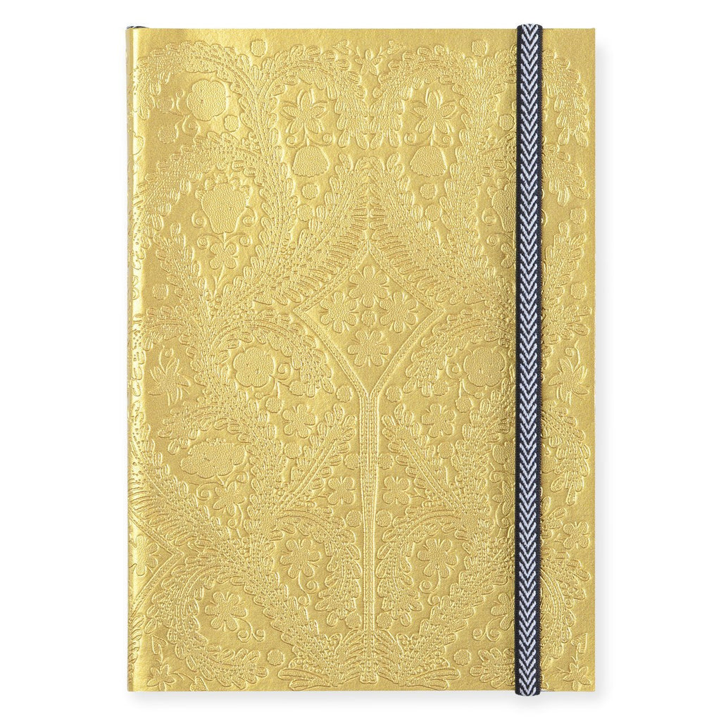 Paseo Gold Notebook In Three Sizes By Christian Lacroix - 1