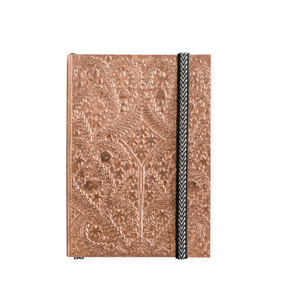 Christian Lacroix Paseo Copper Sunset Notebook | A5 or A6 A6 4 x 5.75""
