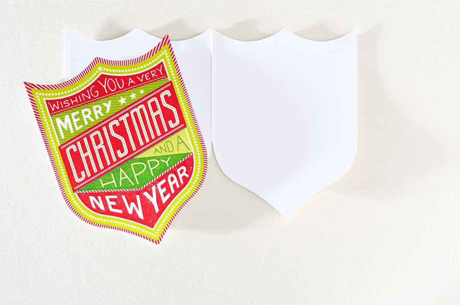 Hammerpress Christmas New Year Badge
