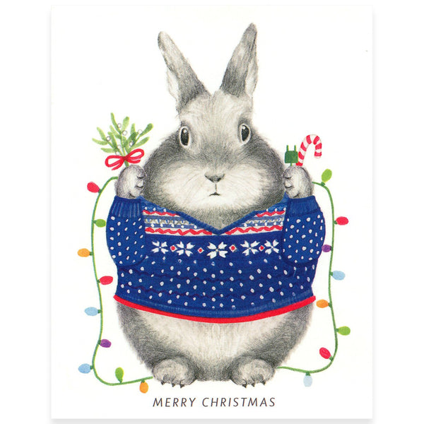 Christmas Bunny - GREER Chicago Online Stationery