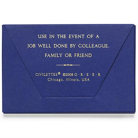 GREERChicago Civilettes Portable Good Job Notes