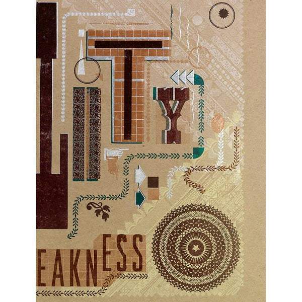Hammerpress x GREER Civility is not a Sign of Weakness Poster - GREER Chicago Online Stationery Shop