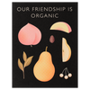 Clap Clap Fruit Friendship Greeting Card