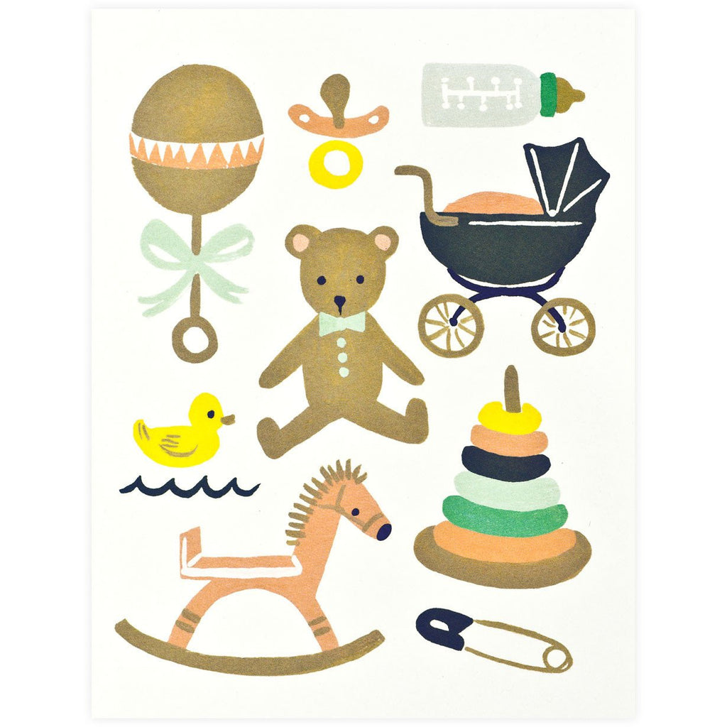 Classic New Baby Card By Rifle Paper Co. - 1