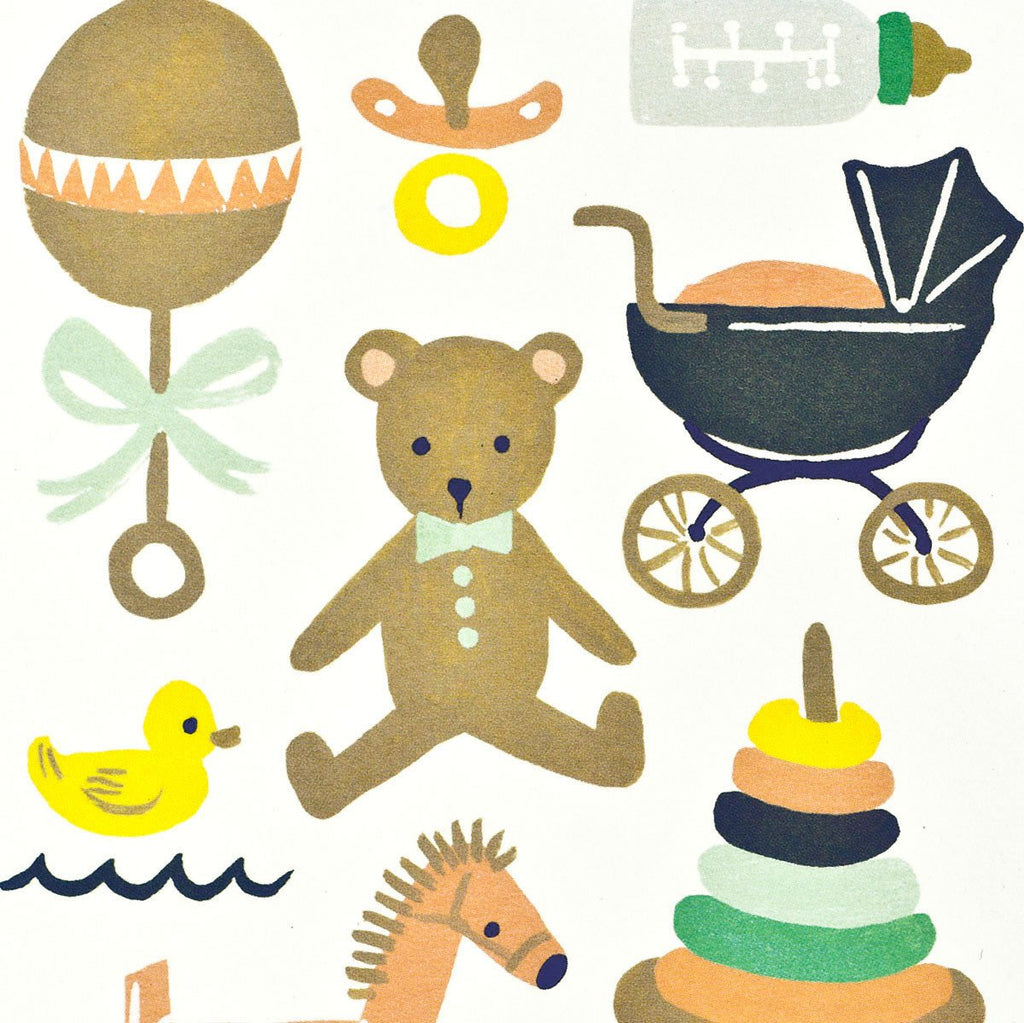 Classic New Baby Card By Rifle Paper Co. - 2