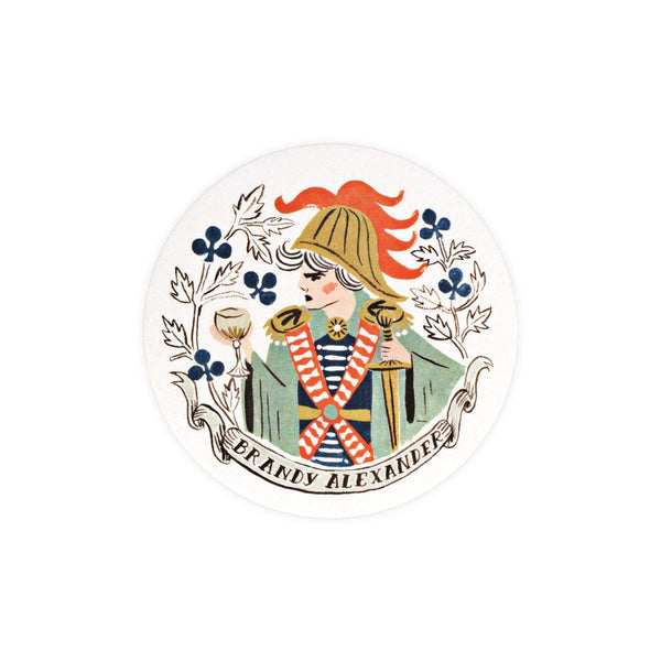 Rifle Paper Co. Royal Cocktail Coaster Set - GREER Chicago Online Stationery Shop