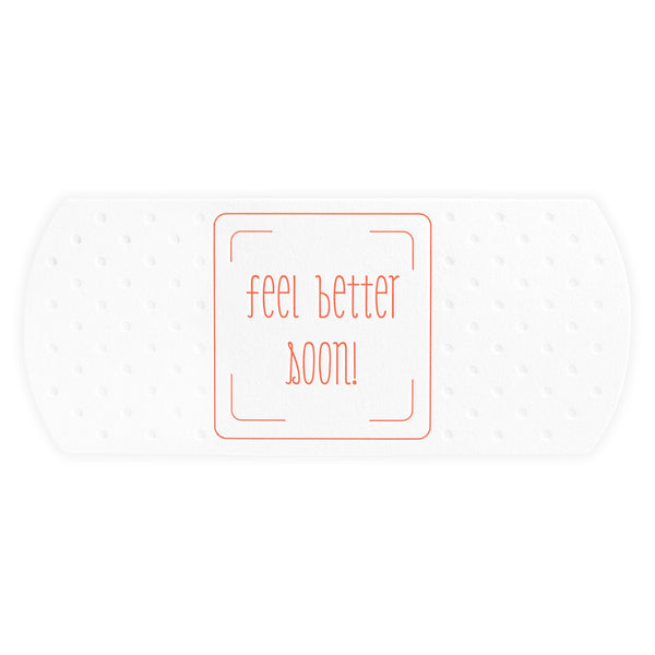 Feel Better Soon Giant Bandage Die-Cut Get Well Card
