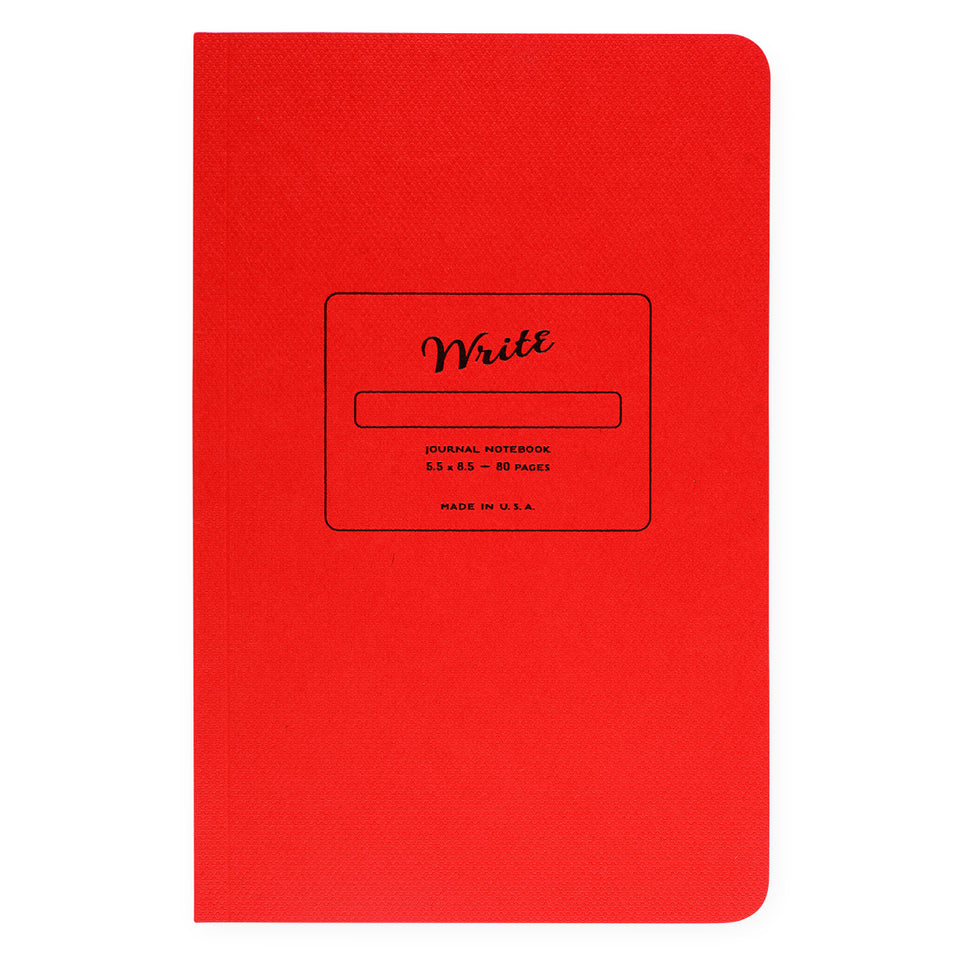 Write Notepads & Co. Paper Journal Colors Series | 3 Colors Reddest Red