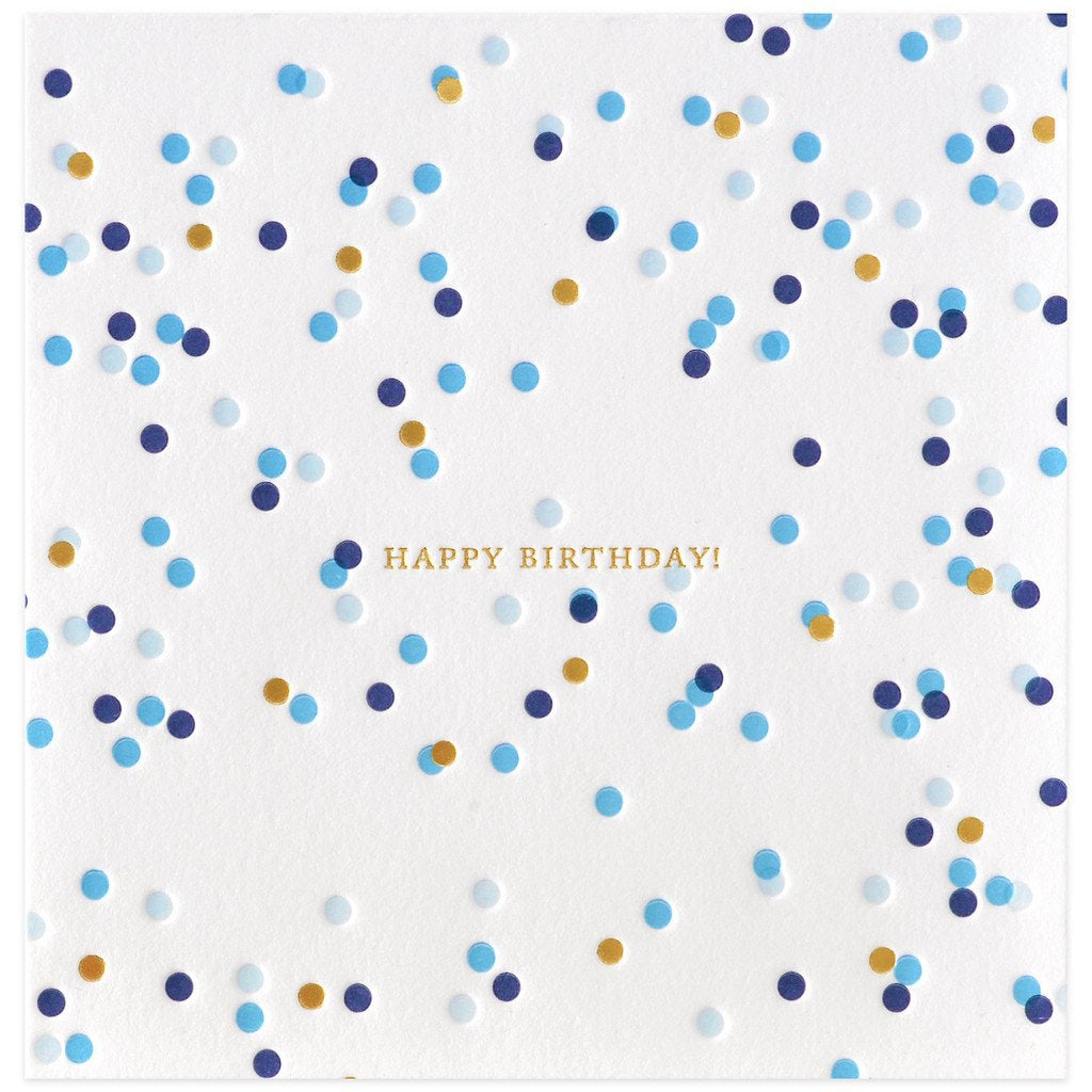 Confetti Birthday - GREER Chicago Online Stationery