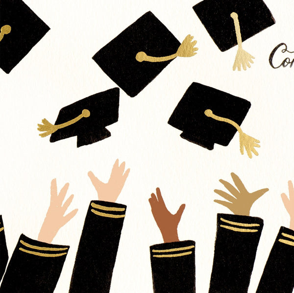 Rifle Paper Co. Congrats Grad! Graduation Card - GREER Chicago Online Stationery Shop
