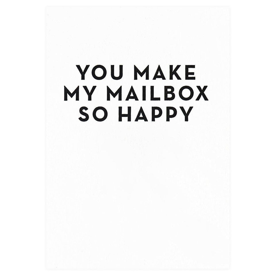 Constellation & Co. You Make My Mailbox So Happy Greeting Card