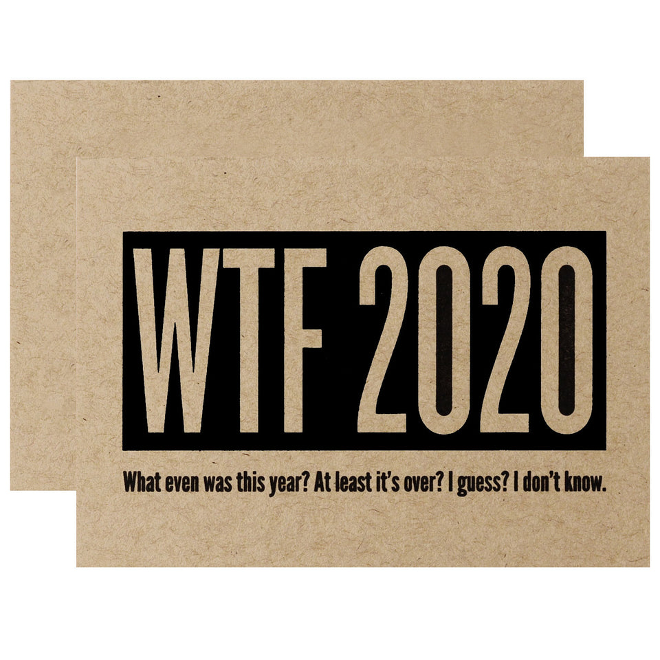 Constellation & Co. WTF 2020 New Year's Card