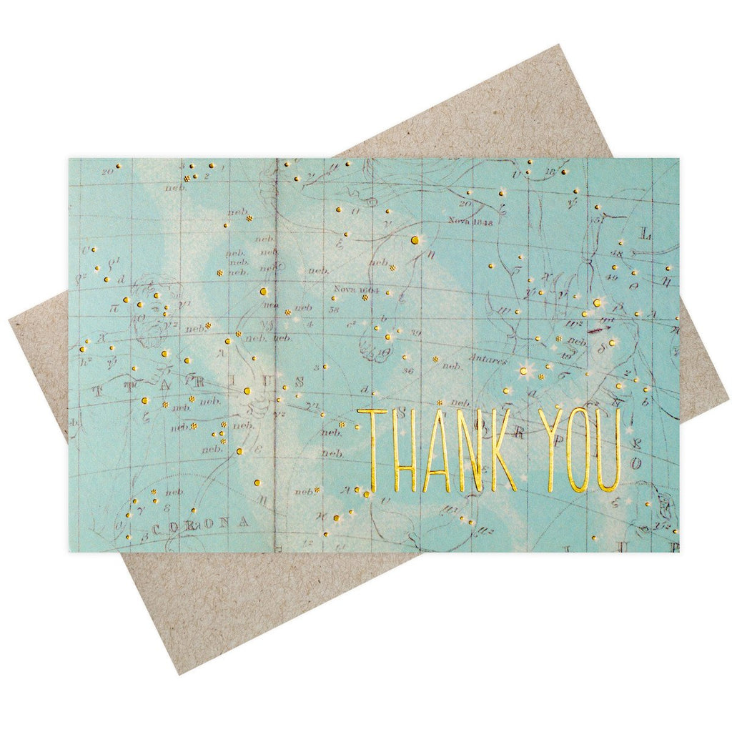 Constellation Thank You Boxed Cards By SMOCK - 2