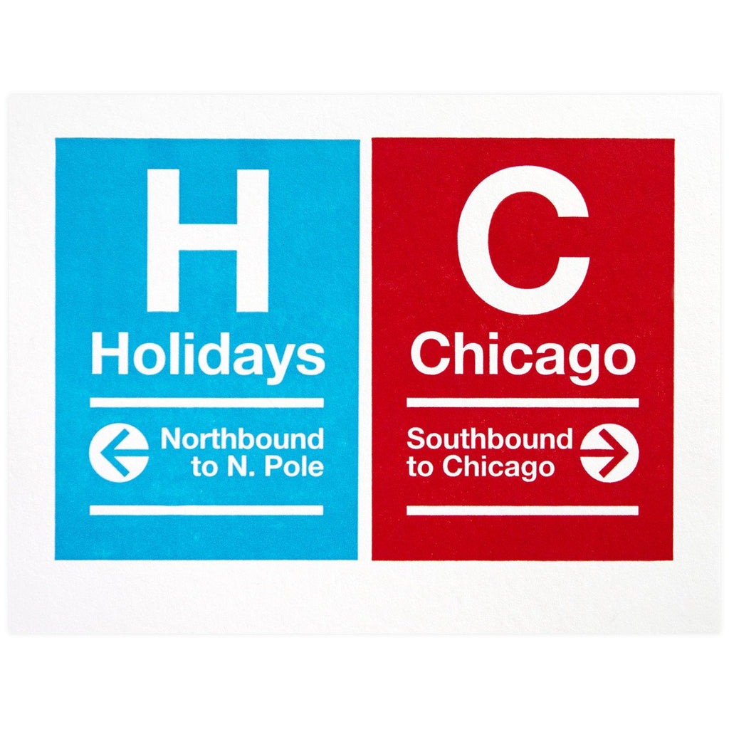 CTA Holiday Sign By A. Favorite - 1