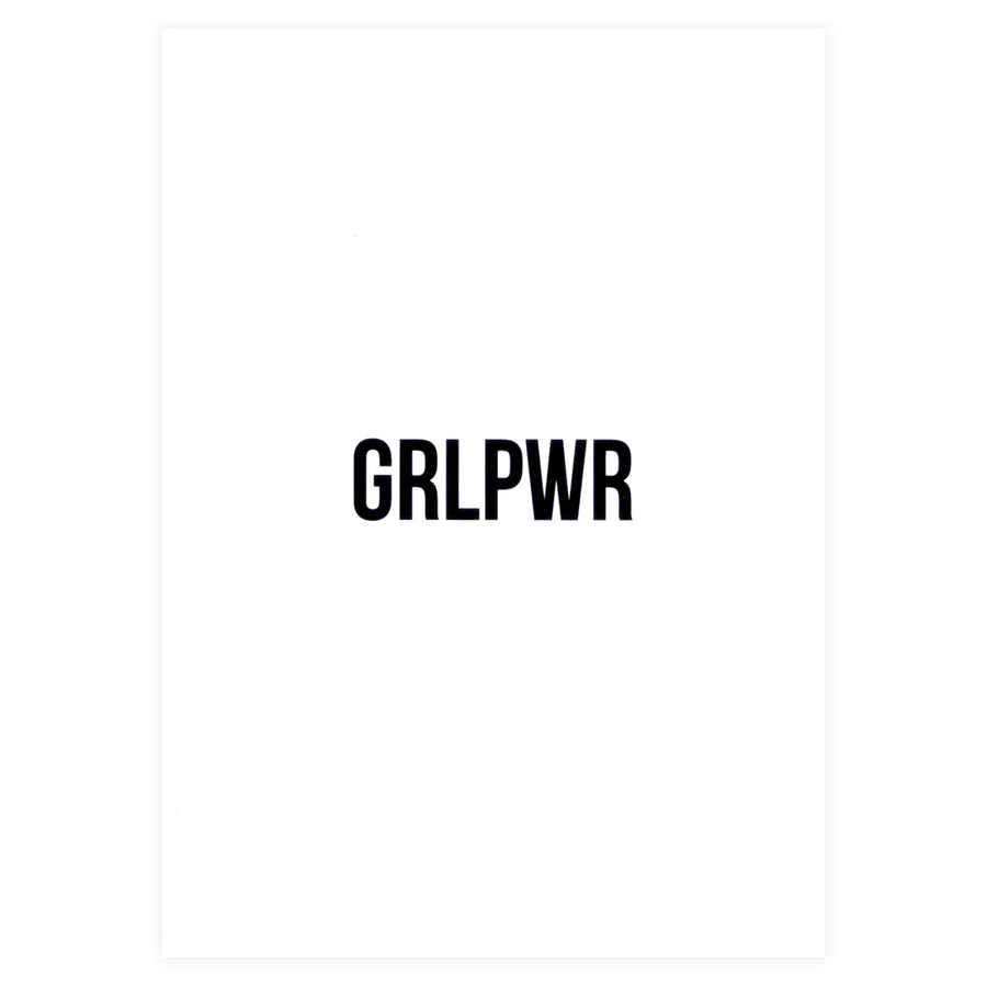 Cult Paper GrlPwr Greeting Card