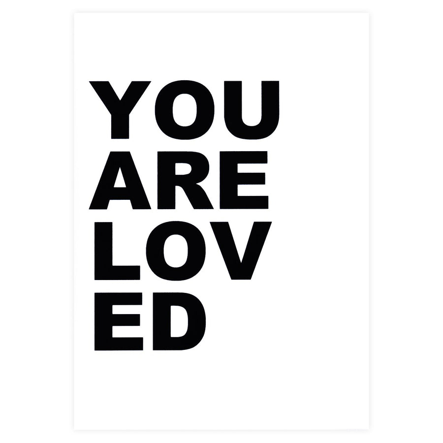 Cult Paper You Are Loved Greeting Card - GREER Chicago Online Stationery Shop