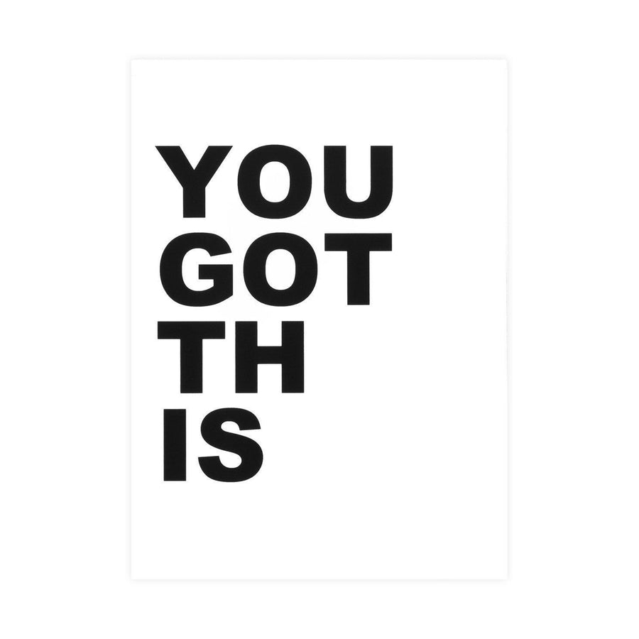 Cult Paper You Got This Greeting Card - GREER Chicago Online Stationery Shop