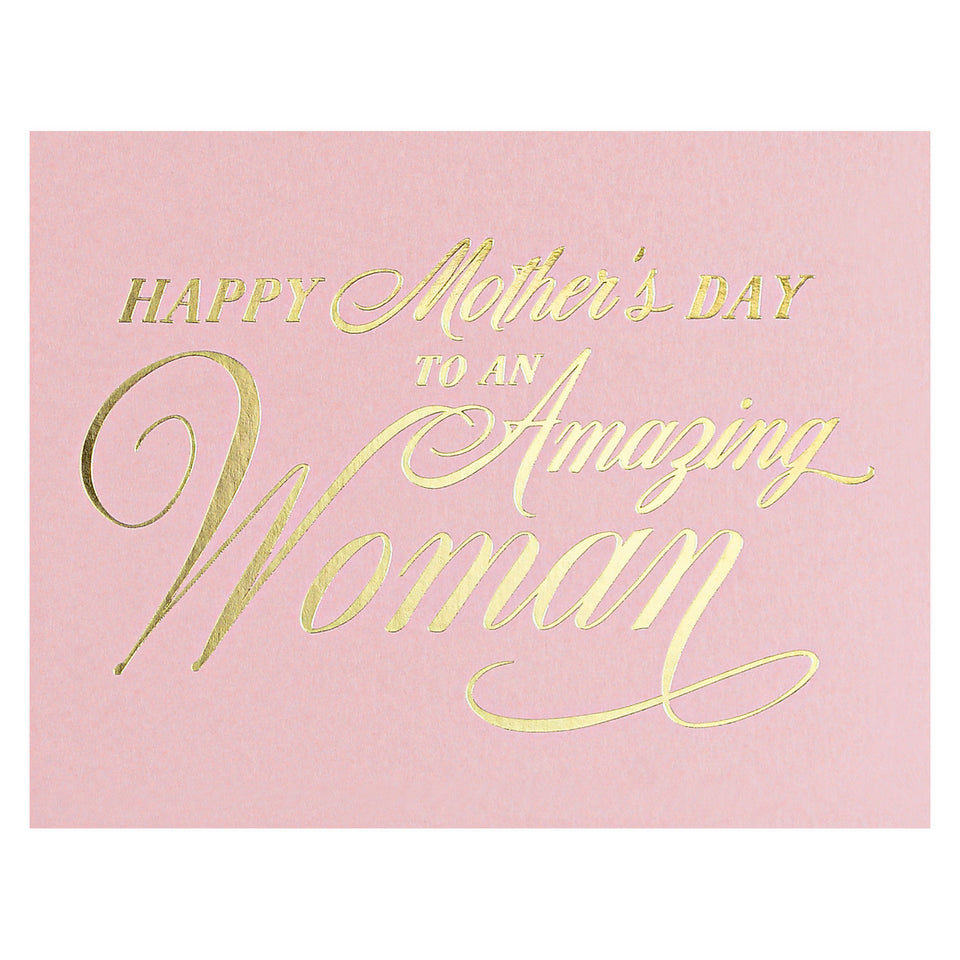 Dahlia Press Amazing Woman Mother's Day Card