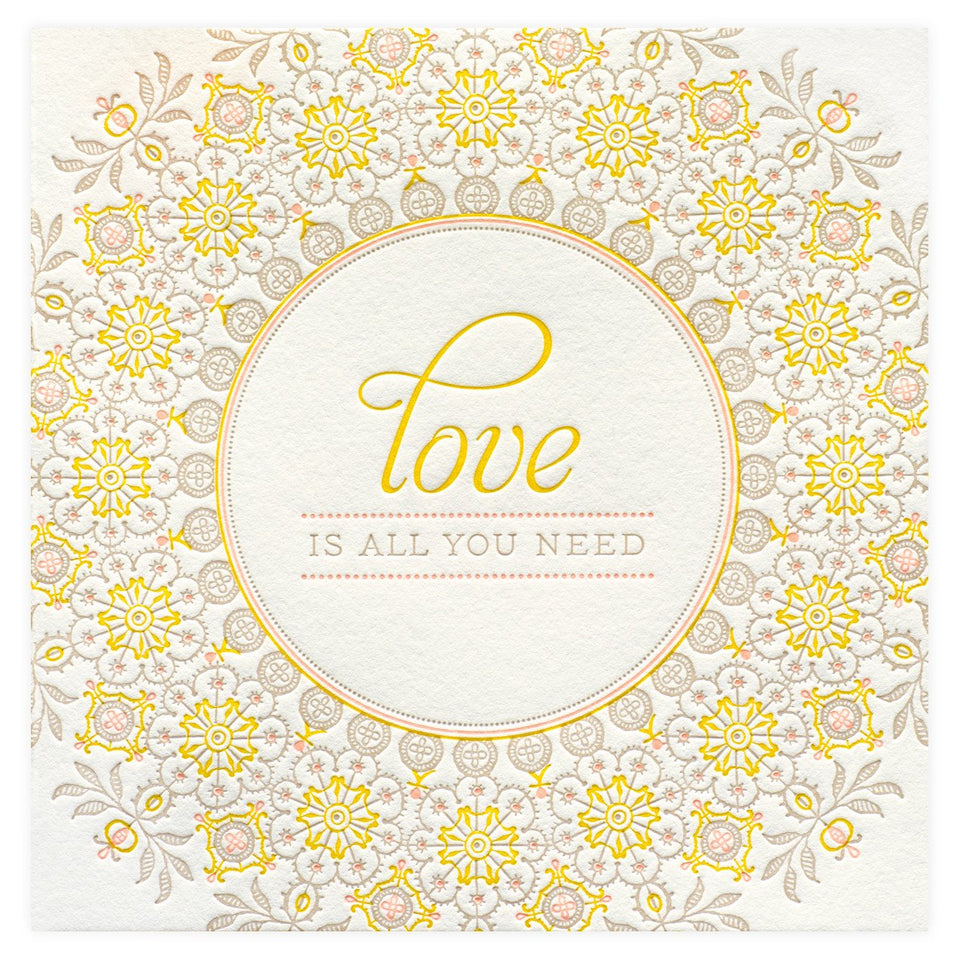 Elum Darjeeling Love Card