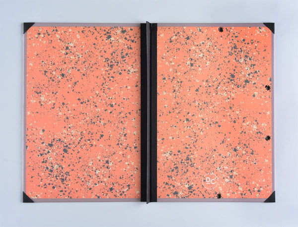 Darling Clementine Dusty Lavender Linen Hardcover Folder - GREER Chicago Online Stationery Shop
