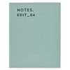 Darling Clementine Dusty Mint Linen Journal - GREER Chicago Online Stationery Shop