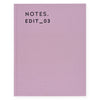 Darling Clementine Dusty Lavender Linen Journal - GREER Chicago Online Stationery Shop