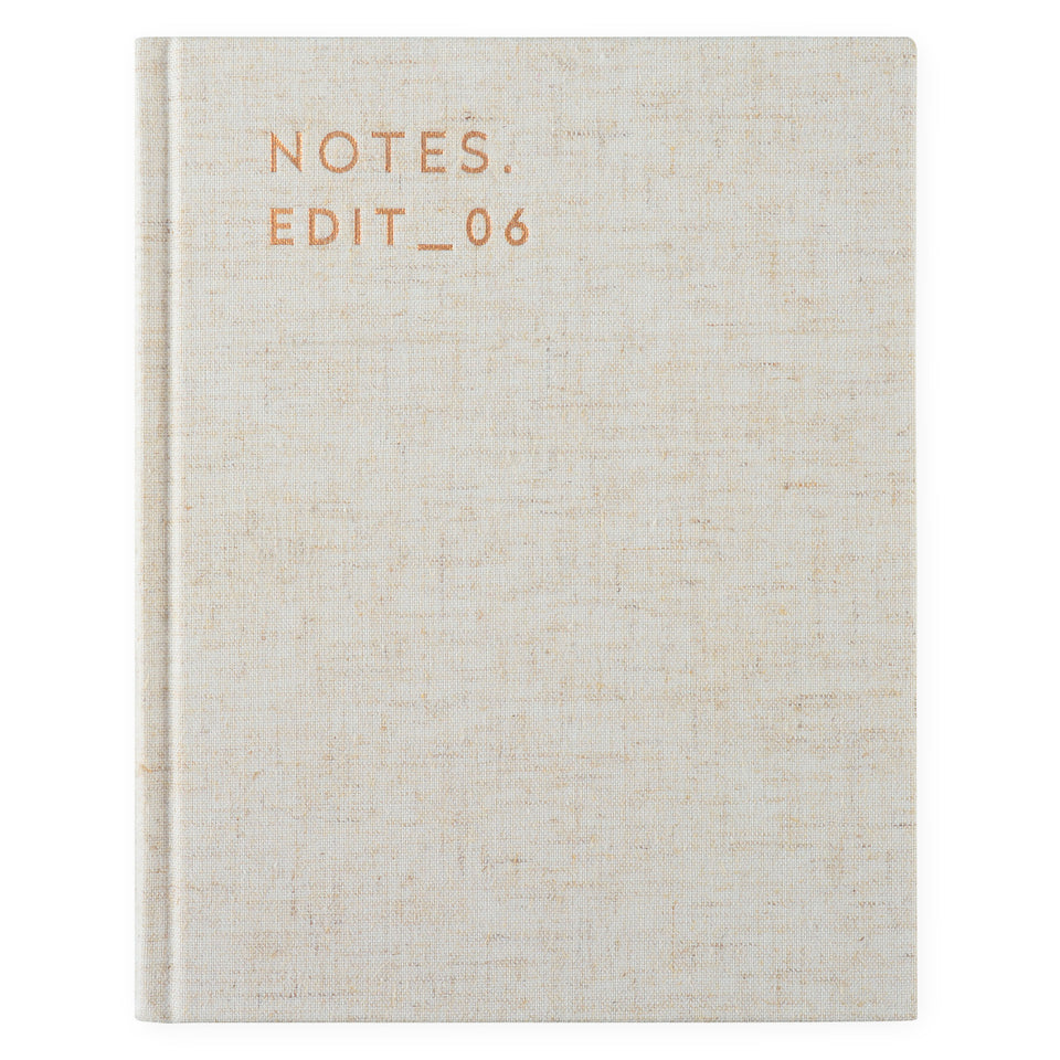 Darling Clementine Darling Clementine Notebook Sand Linen Lined