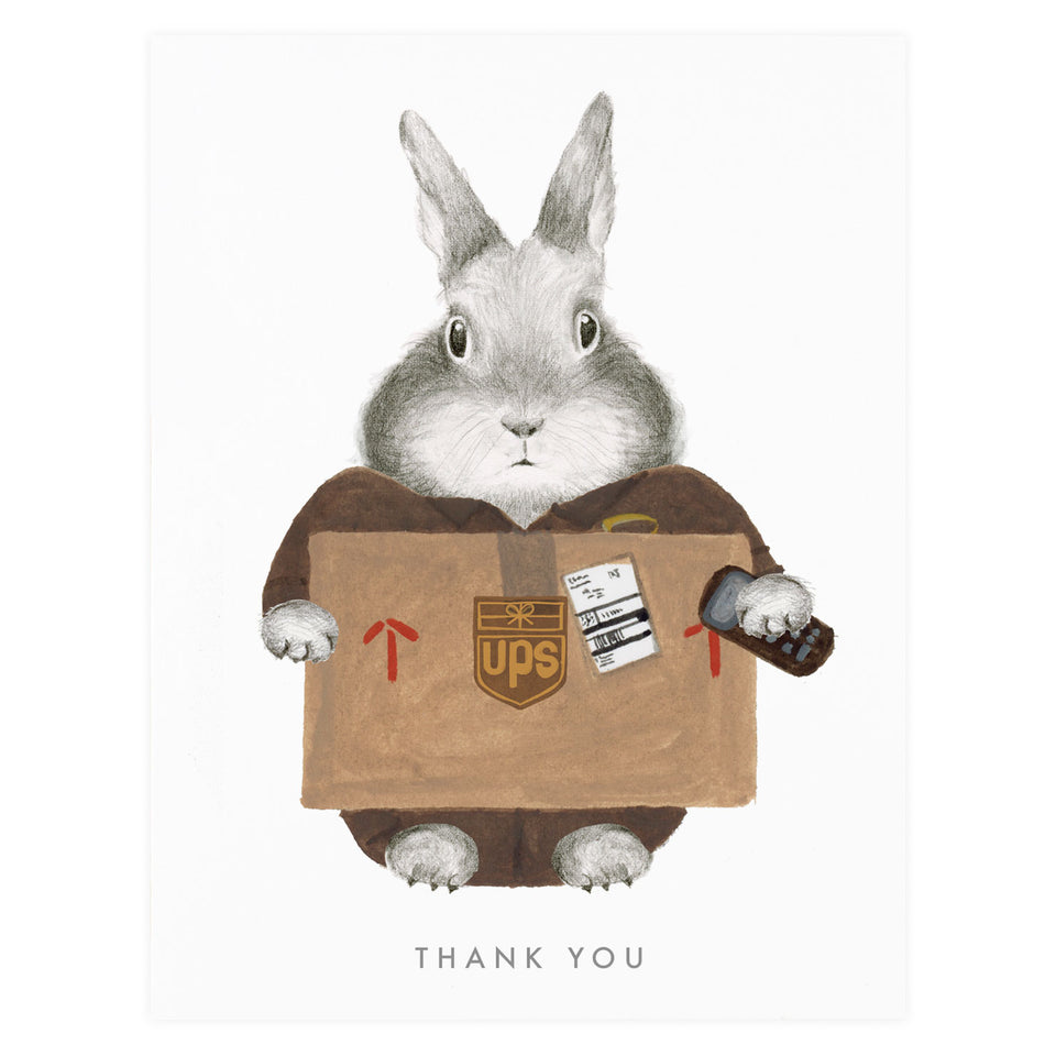 Dear Hancock Essential Worker UPS Thank You Card