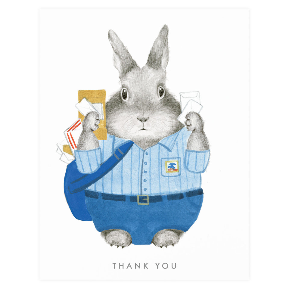 Dear Hancock Essential Worker USPS Thank You Card