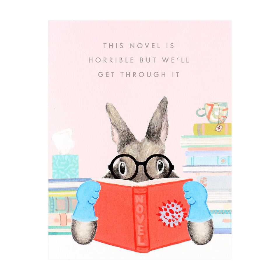 Horrible Novel Greeting Card