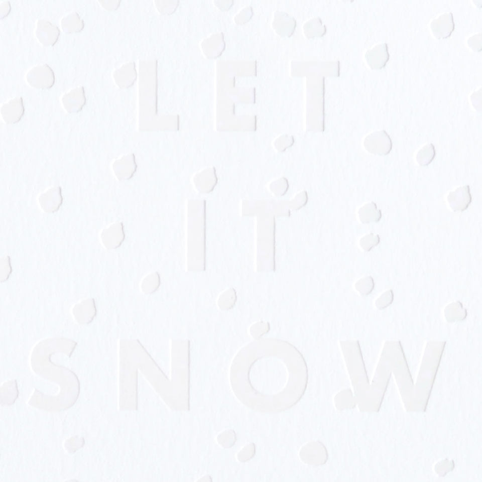 Dear Hancock Let It Snow Holiday Cards Set