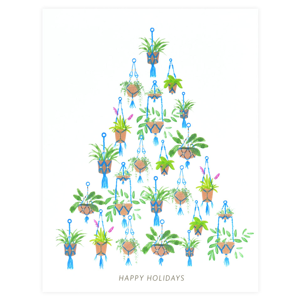Dear Hancock Macrame Tree Holiday Cards Set