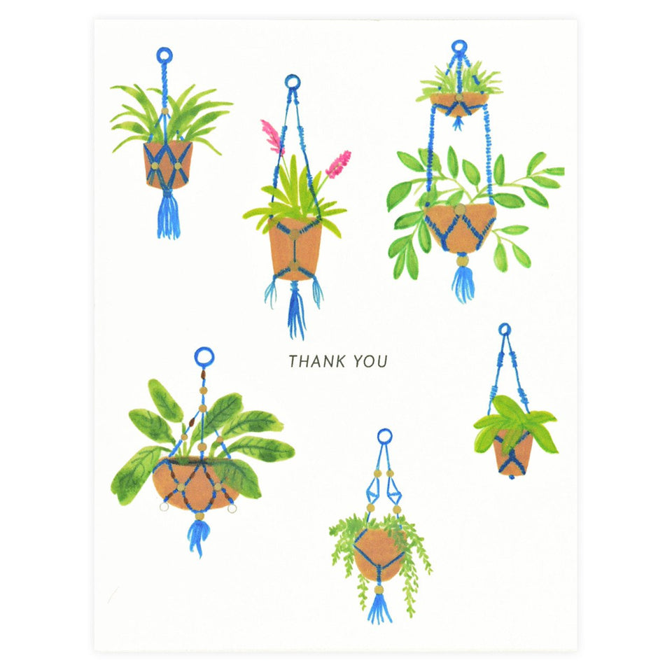 Dear Hancock Thank You Macrame Folded Cards Set