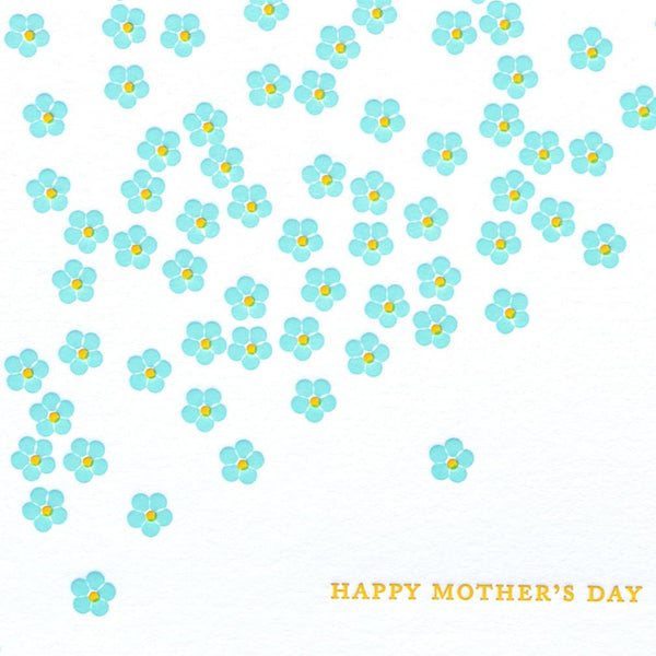Forget-Me-Not Mother's Day Card